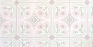 Chonchos background with tile pattern